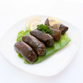Stuffed Grape Leaves - 6pcs (222 cals)