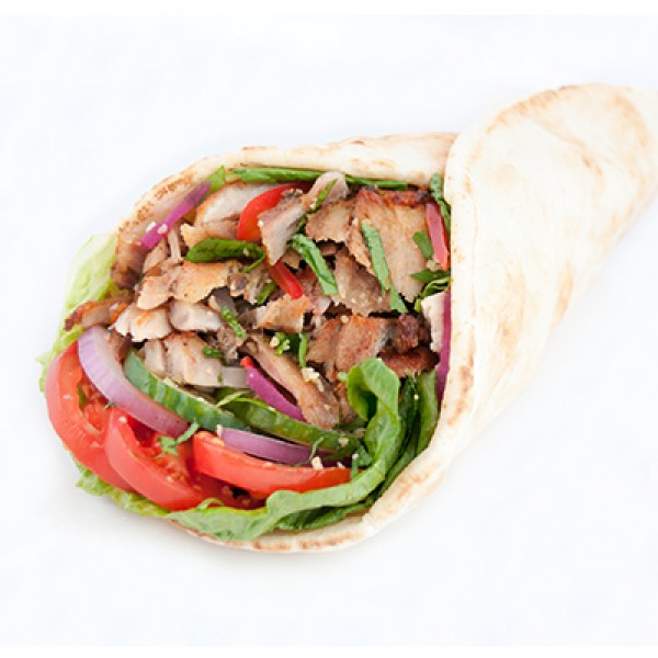 MONDAY SPECIAL - 2 CHICKEN SHAWARMA WRAPS (854 - 1036 cals)