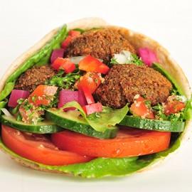 Falafel Wrap (691 - 770 Cals)