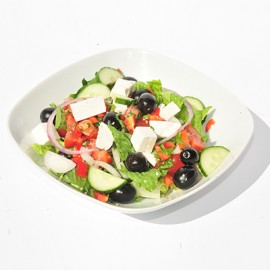 Greek salad - LARGE (130 Cals)